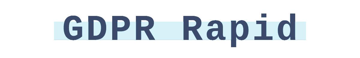 GDPR-rapid