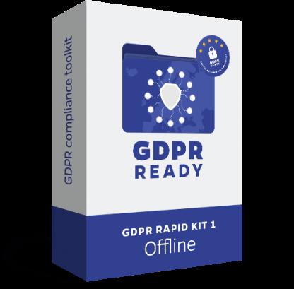 GDPR Rapid Kit - Offline - Recomandăm acest KIT firmelor care nu au activitate online (website și webshop)