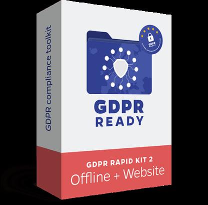 GDPR Rapid Kit - Offline + Website - Recomandăm acest KIT firmelor care au nevoie de impementare GDPR și pe website-ul de prezentare